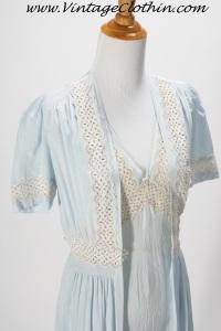 1940s Tula Peignoir Set, 1940s Nightgown, Lingerie, Vintage Lingerie 1940s Lingerie, 40s lingerie, Tula Lingerie,