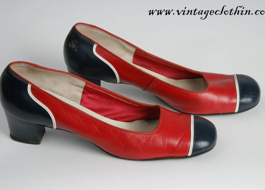 1965 - 1976 Mod Square Toed Shoes by Arpeggios