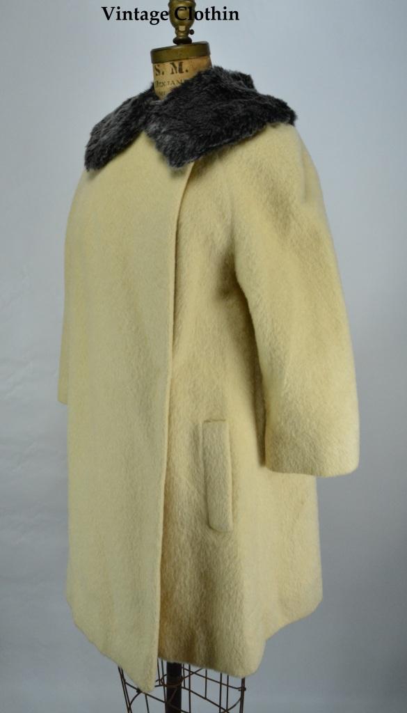 1950s Lilli Ann Mohair Coat