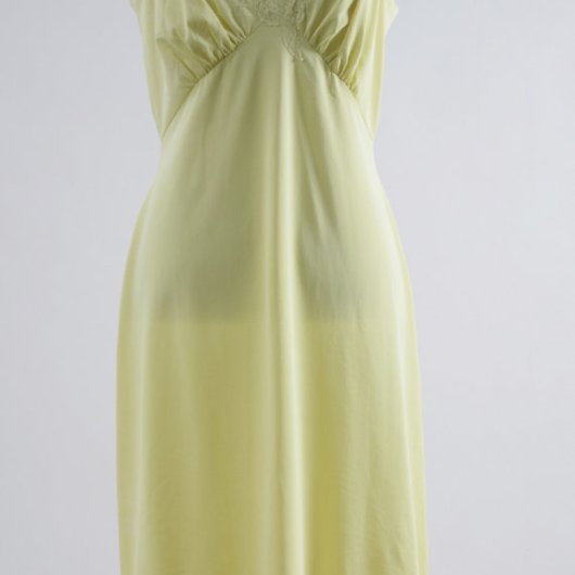 Vintage Shadow Line Yellow Slip, Vintage Slip, Lingerie, Vintage Lingerie, Slip, Yellow Slip