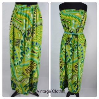 1970s Maxi Skirt, 1970s Dress