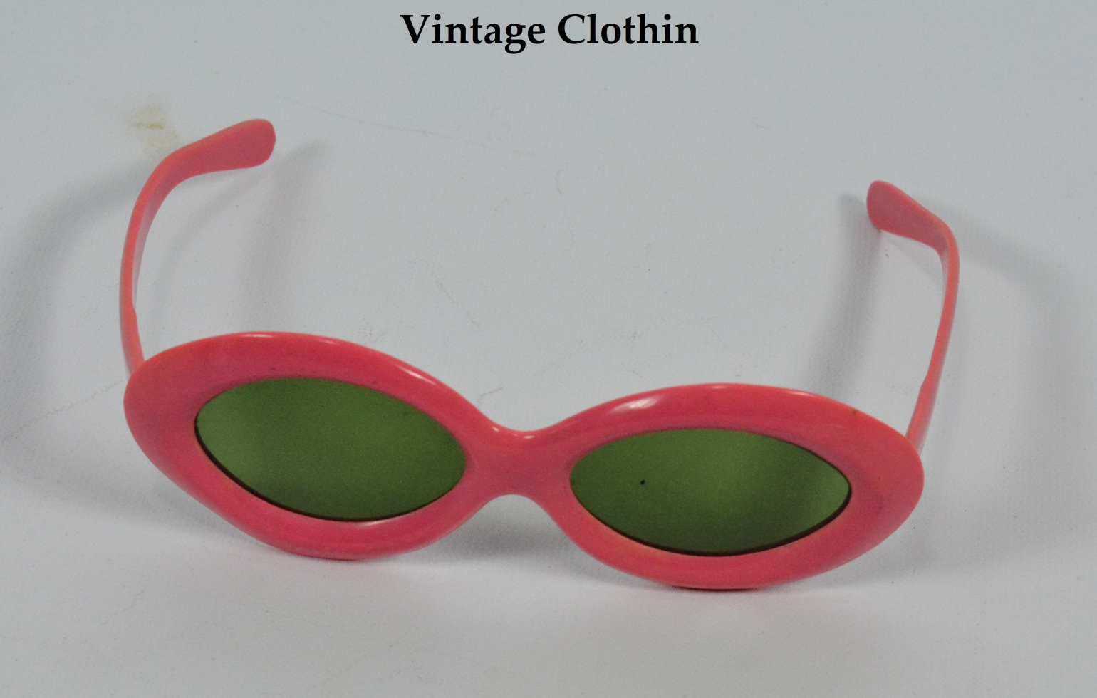 1940s Pink Sunglasses