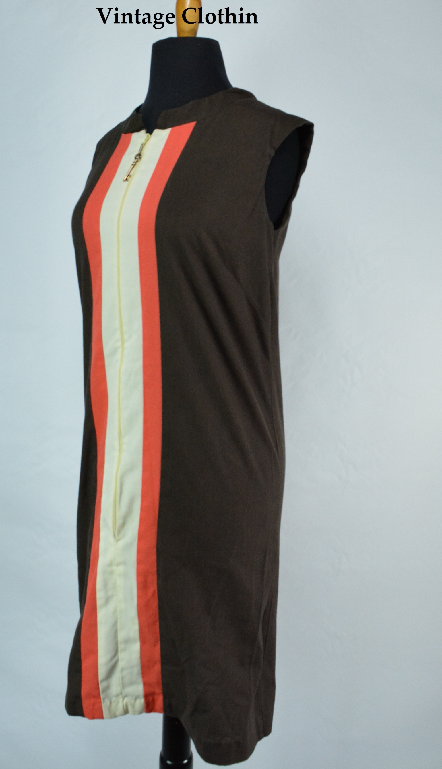 1960s I. Appel Shift Dress