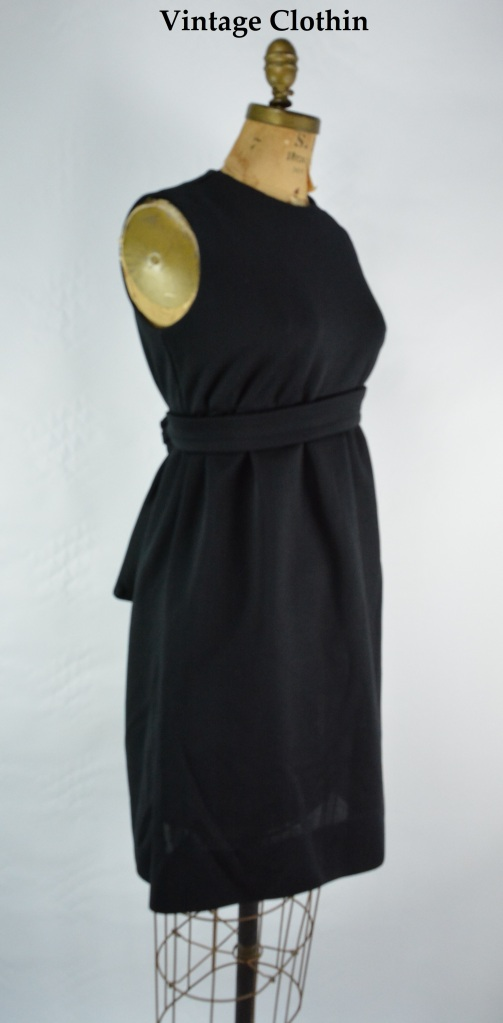 1960's Jonathan Logan Little Black Dress