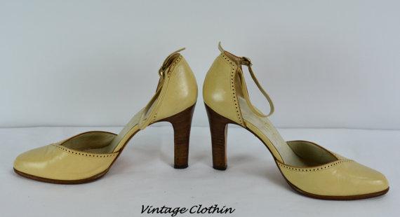 1970s Jarolini Leather Pumps, Shoes