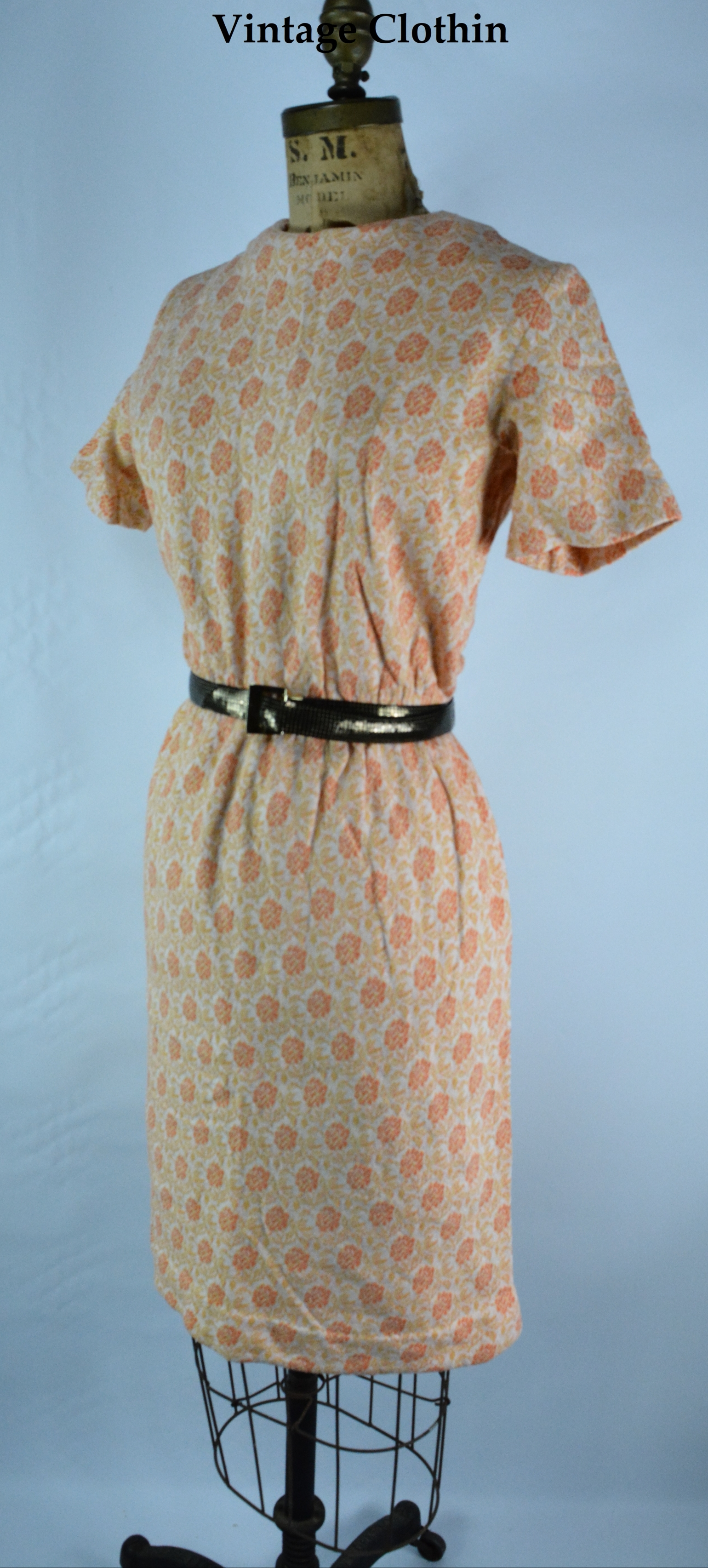 c1960's Four Seasons Dress