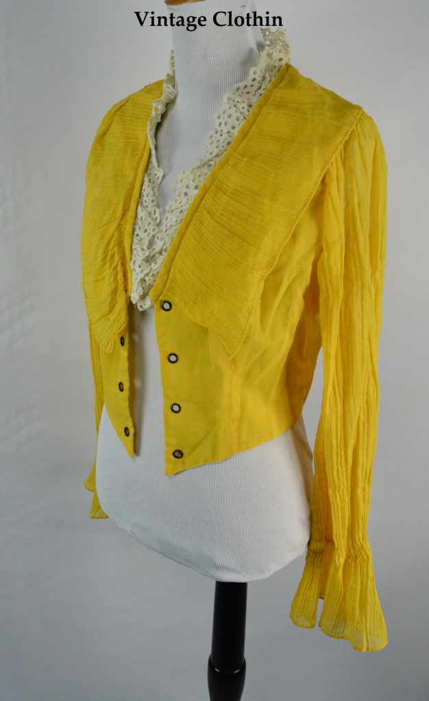 c1950s Tickles Blouse/Cardigan