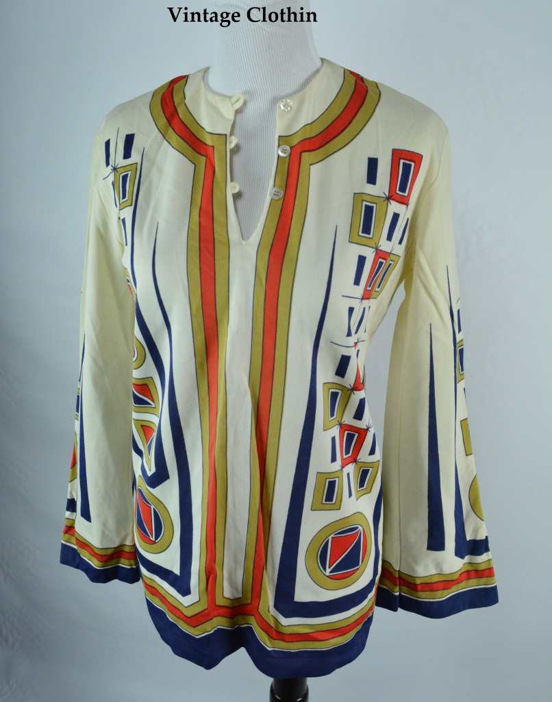 1960s Ethnic Tribal Top
