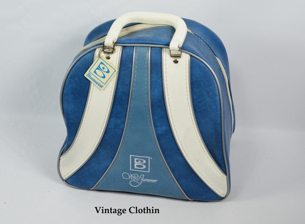 1960s Brunswick Bowling Bag