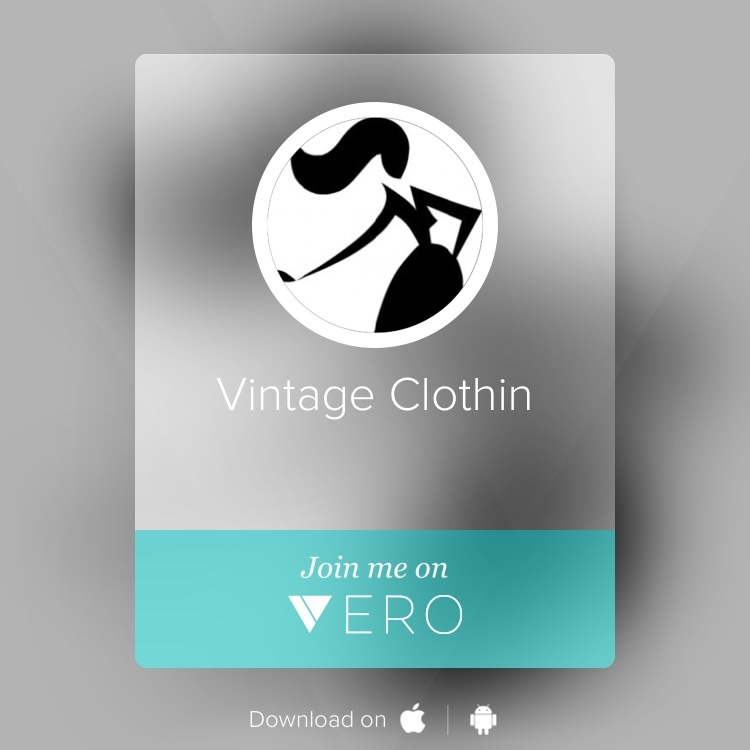 Vintage Clothin on Vero