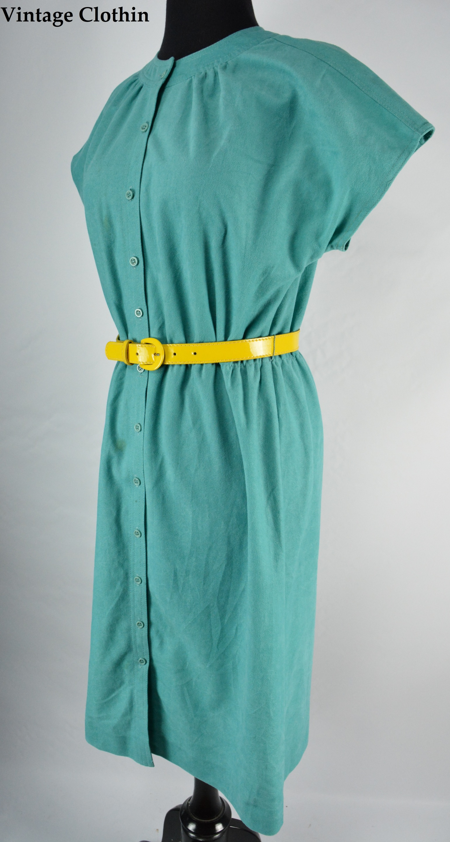 1980s Leslie Fay Dress