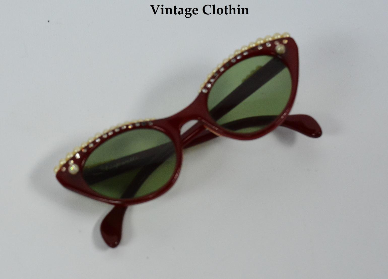 1958 Elsa Schiaparelli Lunettes Cats Eye Sunglasses