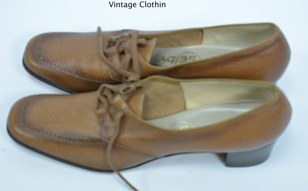 1972 Selby Brown Oxford Shoes