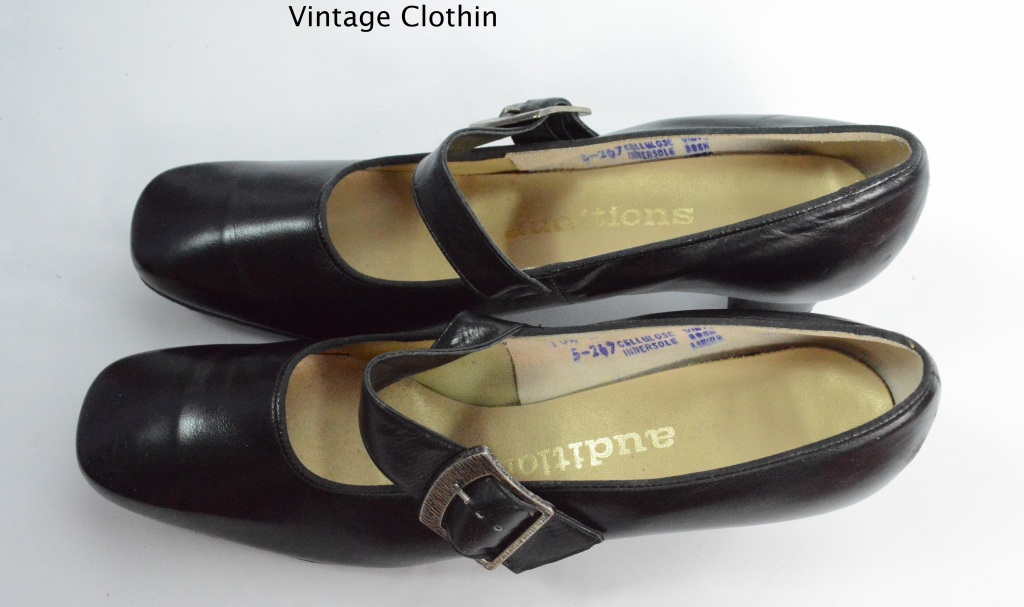 1960s Auditions Black Pumps