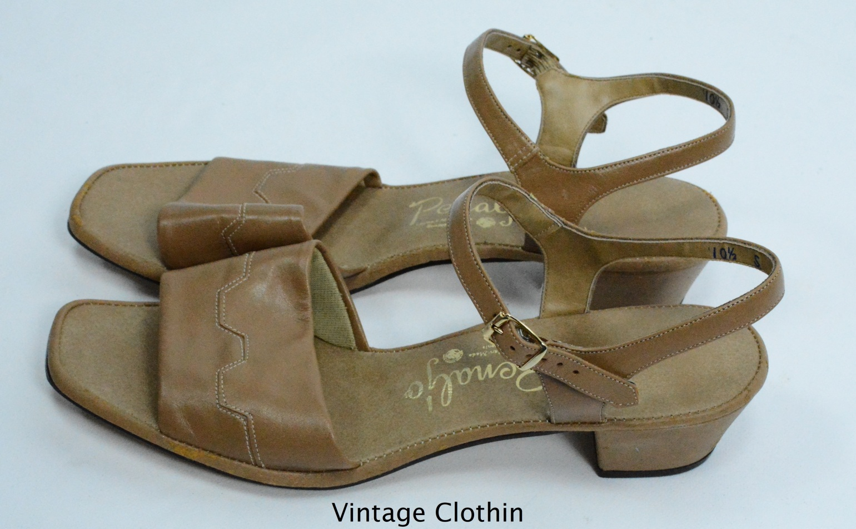 1982 Penaljo Tan Sandals