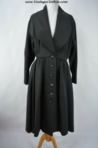 1950'S Eisenberg Originals Princess Swing Coat