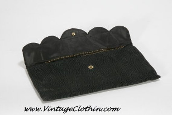 1940s M & C Corde Clutch Purse