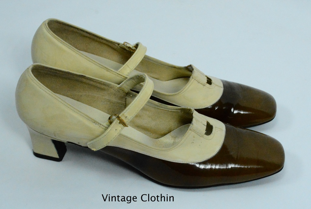 C1960s Socialites Two Tone Pumps,