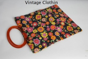 1960's Lady's Pride Floral Purse